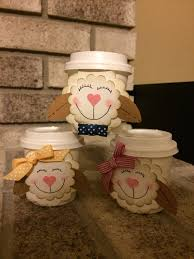 Cup Designs by Lamb Mini Coffee Cup Designs By Dianne At Delightful Designs