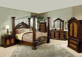 canopy bed designs traditional bedroom design with 5 piece montecito cal king size