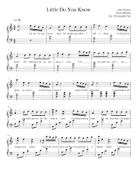 little do you know musescore