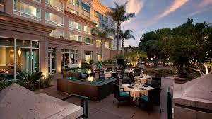 The Patio San Diego Doubletree Del Mar Hotel Near San Diego