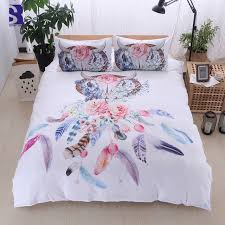 Uk Bedding Sets Sunnyrain 3 Dreamcatcher Duvet Cover Set Uk Us