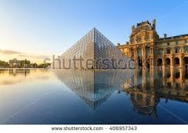 louvre museum at sunset wallpapers paris stock images royalty free images u0026 vectors shutterstock