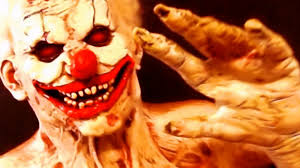 horror masks halloween deluxe killer zombie clown halloween latex costume and horror mask