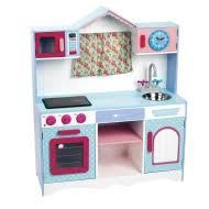 cuisine imaginarium çocuklar için ahşap mutfak provence window kitchen