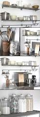 Kitchen Wall Shelves by Best 25 Cottage Kitchen Shelves Ideas Only On Pinterest Cottage