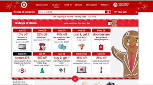 target black friday promo code black friday marketing highlights
