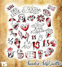 50 best friday 13 tattoos images on pinterest tattoo ideas 13