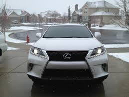 white lexus 2010 blacked out bumper on a white f sport clublexus lexus forum