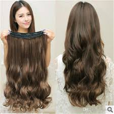 hair pieces for women 2018 seamless 5 clips hair pieces hair extensions wholesale new