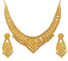 necklace golden images Golden set wootique jpg
