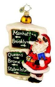 radio city rockettes and santa ornament santa dress santa