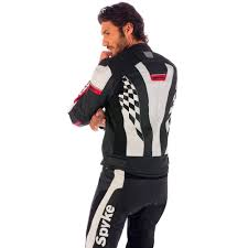 leather cycle jacket spyke 4 race gp leather jacket usa