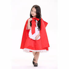 little red riding hood halloween costume toddler aliexpress com buy kids fairy tale costume little red riding
