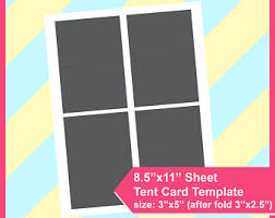 tent cards etsy