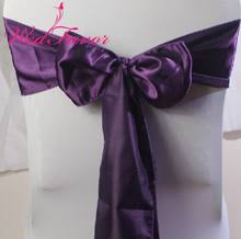 eggplant ribbon popular eggplant chair sash buy cheap eggplant chair sash lots