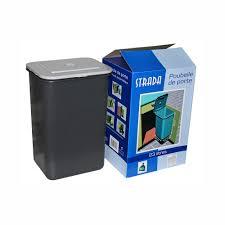 poubelle cuisine de porte frandis poubelle de cuisine manuelle 23 l pas cher