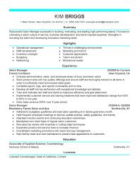 resume exles for hairstylist amazing salon owner resume exles photos entry level resume