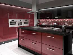 red and black kitchen new kitchen style
