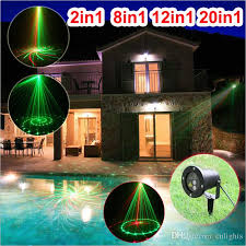 Laser Christmas Lights For Sale 2in1 8in1 12in1 20in1 Outdoor Ip65 Waterproof Laser Stage Light