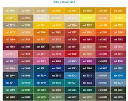 ral color chart lovinglyy us