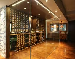 in floor wine cellar blooming glass wine cellar wine cellar contemporary with wood