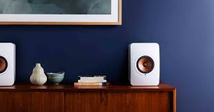 kef ls50 for home theater review kef ls50 wireless loudspeakers the little audio company