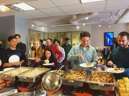 thanksgiving potluck in the d applied predictive technologies