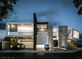 mm house architecture modern facade contemporary design kristalika