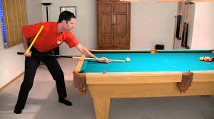 How Long Is A Pool Table Pool Break Shot Technique Advice How To Break From Vol Iii Of