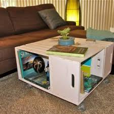 Free Plans For Wooden Coffee Table by Diy Wood Crate Coffee Table Free Plans Picture Instructions