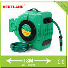 garden 10m 15m 20m 30m auto retractable rewind plastic hose reel
