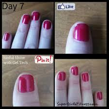 nail polish super girlz fitness