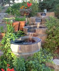 backyard fountains and waterfalls home outdoor decoration