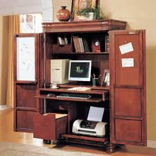 Modern Corner Desks For Home Office by Furniture Contemporary Home Office Idea With Computer Armoire