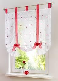 cache rideau cuisine pas cher livraison gratuite arc fenêtre floral tulle rideaux