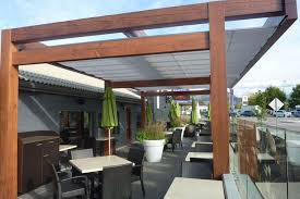 Pergola Roof Options by Gimme Shelter U0027 The Shadefx Retractable Canopy