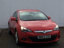 vauxhall red used vauxhall for sale astra gtc 1 6t 16v sri red autoworld