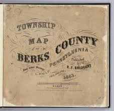 Pennsylvania Township Map by Title Page Township Map Of Berks County Pennsylvania David