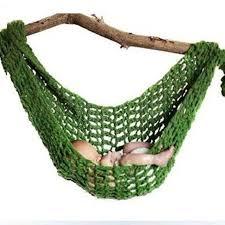 newborn baby crochet hammock u2013 white green red or brown