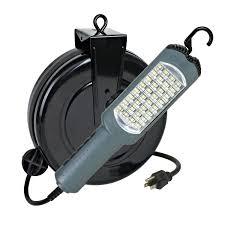 led automotive work light retractable reel led work lights kamrock lights led lights