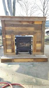 How To Make Fake Fireplace by The 25 Best Primitive Fireplace Ideas On Pinterest Fireplace