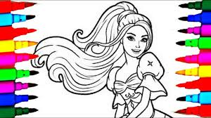 barbie princess for girls coloring sheet coloring pages for