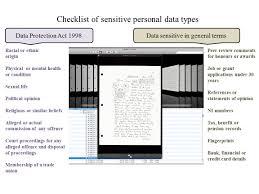 sensitivity assessment the finer points of archives digitisation