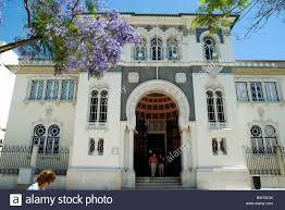 Moorish Architecture The Banco De Portugal In Faro Portugal Has Elegant Moorish Stock