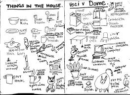 notebook u201cthings in house u201d coffee dumpling komiks