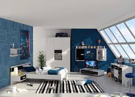 home decoration bright modern blue bedroom ideas for decor with