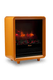 amazon com crane mini fireplace heater orange home u0026 kitchen