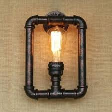 Edison Wall Sconce Loft Vintage Copper Umbrella Edison Wall Sconce L Industrial