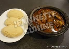 cuisine ivoirienne en kabato sauce djoumblé plat africain jeannette cuisine