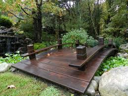 backyard bridges backyard bridges design adams flowers